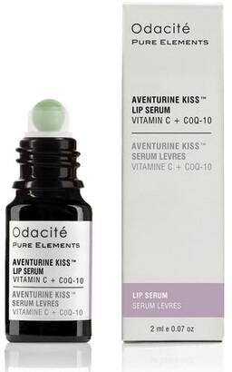 Odacite Aventurine Kiss Lip Serum - Vitamin C + CoQ10