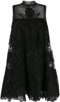 RED Valentino floral embroidered short dress