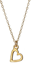Jessica Elliot Gold Heart Charm Necklace