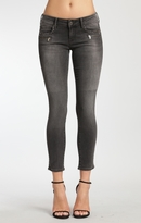 Mavi Jeans Riana Skinny Biker In Smoke Rock Chic