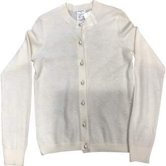 Chanel White Cashmere Knitwear