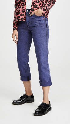 Marc Jacobs The The Turn Up Jeans Overdye