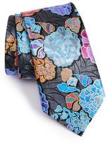Ermenegildo Zegna Men's Quindici Floral Silk Tie