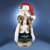 Steinbach SIGNED 2012 Wooden *Christmas Cheer Santa* Nutcracker 7th in the Christmas Traditions Series, LE