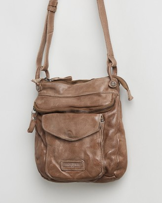 Stitch & Hide - Women's Brown Leather bags - Venice Crossbody Bag - Size One Size at The Iconic