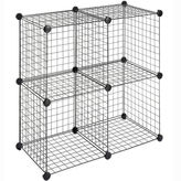Whitmor 4-pk. Wire Storage Cubes