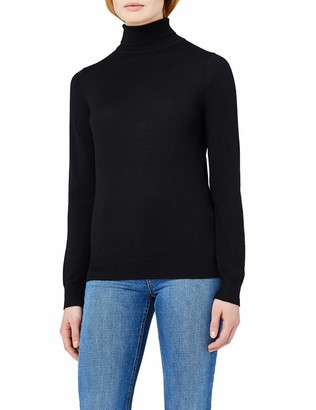 Meraki Women's Merino Roll Neck Sweater