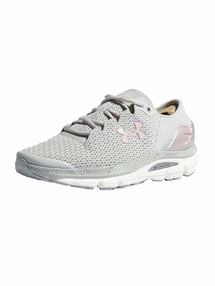 Under Armour Women's Speedform Intake 2 Competition Running Shoes Grey (Ghost Gray / Tin / Flushed Pink Ghost Gray / Tin / Flushed Pink) 2.5 UK (35.5 EU)