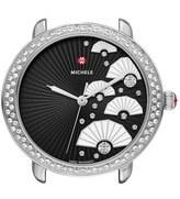 Michele Women's Serein 16 Diamond Diamond Fan Dial Watch Case, 36Mm X 34Mm