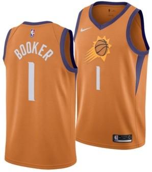 Nike Men's Devin Booker Phoenix Suns Statement Swingman Jersey