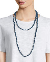 Eileen Fisher Bindu Silk Multi-Strand Necklace