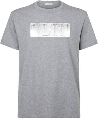 Valentino Metallic Logo T-Shirt