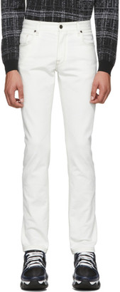 Fendi White Forever Denim Jeans