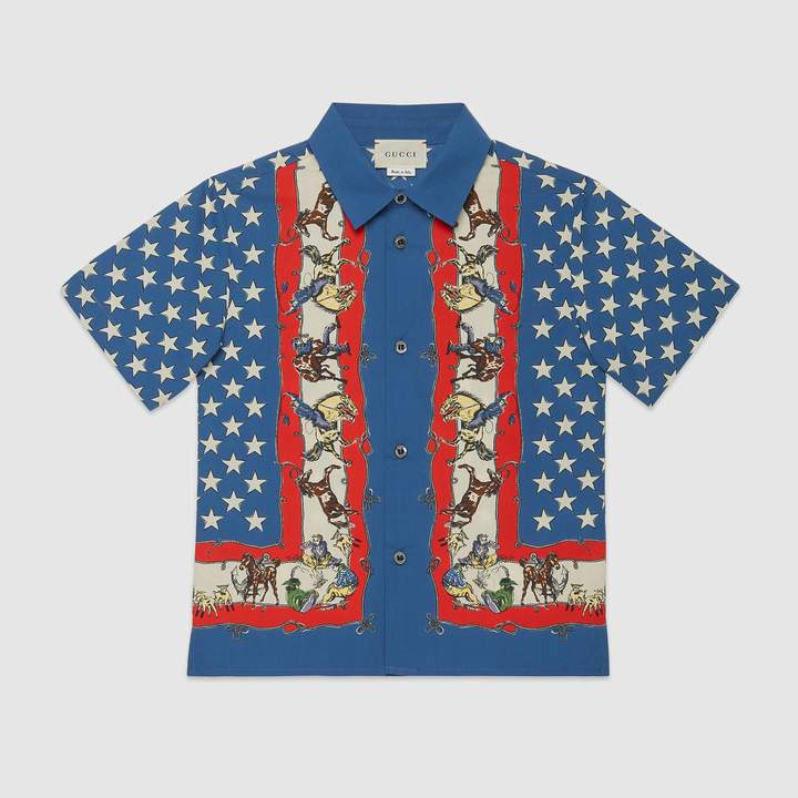 6663d8f4a Gucci Shirts For Boys - ShopStyle UK