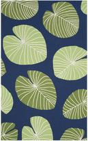 Martha Stewart Living Lily Pads All-Weather Area Rug
