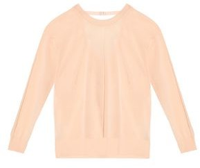 Sandro Cutout Cotton-blend Sweater