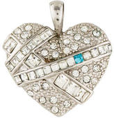 Givenchy Crystal Heart Pendant