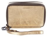 Reed Krakoff Leather Double-Zip Wallet