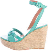 Robert Clergerie Espadrille Wedge Sandals