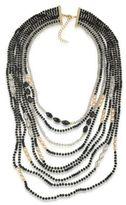 ABS by Allen Schwartz Dark Horse Multi-Strand Beaded Necklace