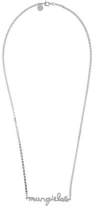 MM6 MAISON MARGIELA Silver Logo Necklace