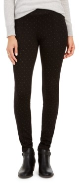 Style&Co. Style & Co Dot-Print Pull-On Pants, Created for Macy's