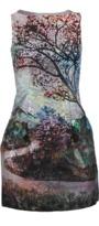 Mary Katrantzou Kardia Tree Print Dress