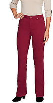 Isaac Mizrahi Live! Petite Icon Grace Boot Cut Jeans