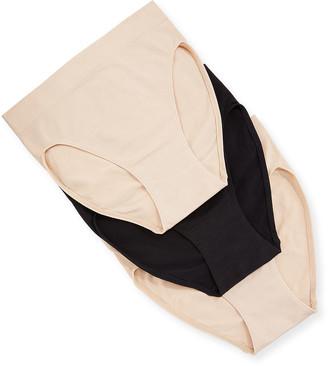 Wacoal Three-Pack B-Smooth High-Cut Bikini Briefs