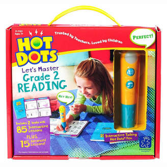 Learning Resources Educational Insights Hot Dots Let Master Grade 2 Reading Set With Talking Pen