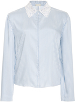 Alexis Mabille Long Sleeve Striped Blouse