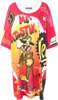 Moschino Pre Owned fantasy print dress