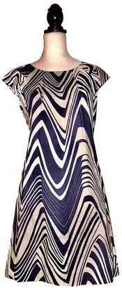 Calvin Klein Navy Cotton Dress for Women