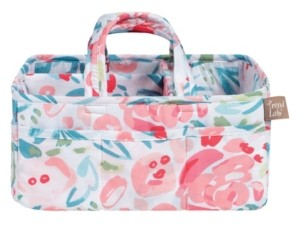 Trend Lab Painterly Floral Storage Caddy Bedding
