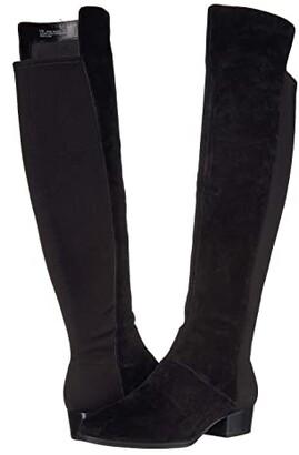 Aerosoles Cross Country (Black Suede) Women's Boots