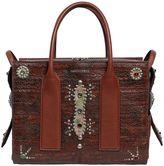 DSQUARED2 Medium Twin Picks Studded Leather Bag