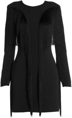 Stella McCartney Fringe Trim Mini Dress