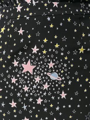 Boutique Moschino Star Print Pencil Skirt
