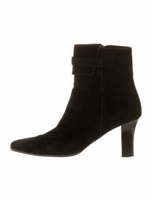 Salvatore Ferragamo Suede Boots Black