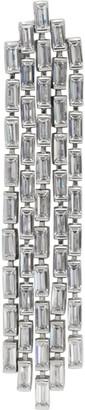 Numbering Silver 1946 Swarovski Crystal Earring