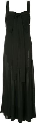 3.1 Phillip Lim Tie-Front Silk Gown