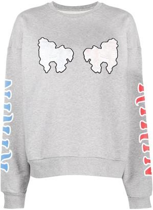 Kirin Logo Graphic Print Sweatshirt