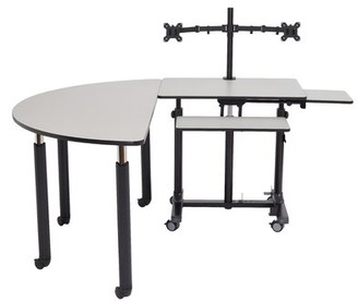 """Innovator 63"""" x 60"""" Novelty Activity Table National Public Seating"""