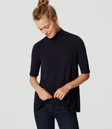 LOFT Turtleneck Swing Tee