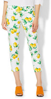 New York & Co. The Audrey Crop Pant - Lemon Print