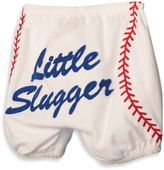Mud Pie Diaper Cover with Baseball Applique