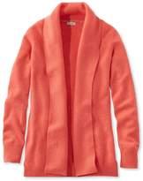 L.L. Bean L.L.Bean Classic Cashmere Sweater, Open Cardigan