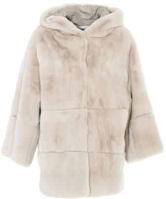 S.W.O.R.D 6.6.44 Hooded Fur Coat
