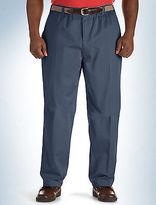 Canyon Ridge Elastic-Waist Twill Pants Casual Male XL Big & Tall