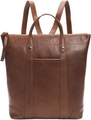 Frye Melissa Zip Leather Backpack